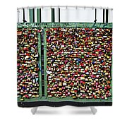 Where Are The Keys? Shower Curtain