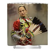 Pow Wow Where Are You Now Shower Curtain