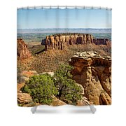 Where Eagles Soar Shower Curtain