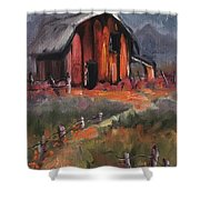 Where Flowers Bloom Shower Curtain
