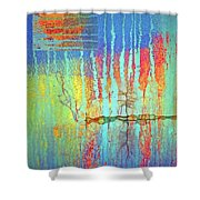 Where Have All The Trees Gone? Shower Curtain