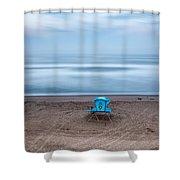 Where Hero's Wait Shower Curtain