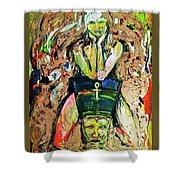 Where Is Nefertiti? V1 Shower Curtain