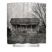 Where Nobody Lives Shower Curtain