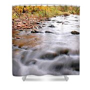Where Peaceful Waters Flow Shower Curtain