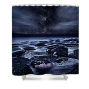 Where Silence Is Perpetual Shower Curtain