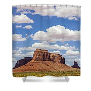 Where The Earth Meets The Sky Shower Curtain