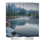 Where The River Bends Shower Curtain