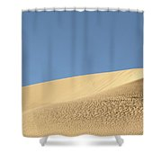 Where The Sand Meets The Sky Shower Curtain