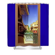 Where The Sky Begins Shower Curtain