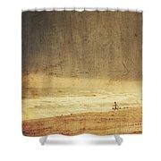 Where The Sky Meets The Sea Shower Curtain