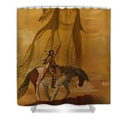 Where The Sun Touches The Sky Shower Curtain