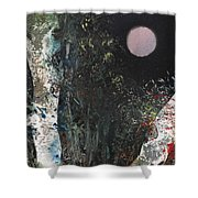 Where The Wolfbane Grows Shower Curtain