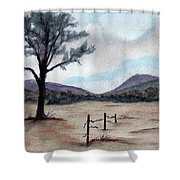 Where  The West Began Shower Curtain