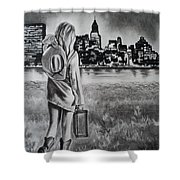 Wherever Your Dreams May Take You Shower Curtain