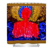 Which Way To World Peace For Humanity Shower Curtain