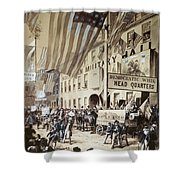 Whig Party Parade, 1840 Shower Curtain