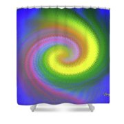 Whimsical #110 Shower Curtain