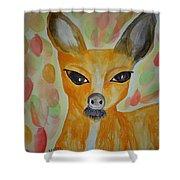 Whimsical Autumn Doe Shower Curtain