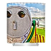 Whimsical View Shower Curtain