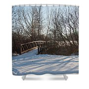 Whimsicle Winter Shower Curtain
