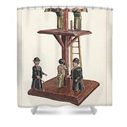 Whipping Post Shower Curtain