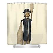 Whirligig Shower Curtain