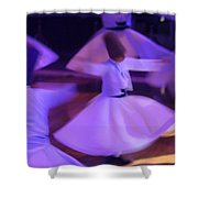 Whirling Dervish3 Shower Curtain