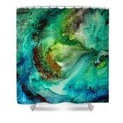 Whirlpool By Madart Shower Curtain
