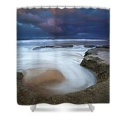 Whirlpool Dawn Shower Curtain