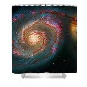 Whirlpool Galaxy M51 Shower Curtain