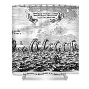 Whirlpool: Maelstrom, 1678 Shower Curtain