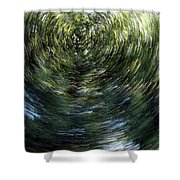 Accumulation Of Time Shower Curtain