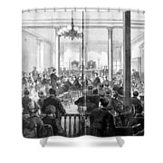 Whiskey Ring Trial, 1876 Shower Curtain