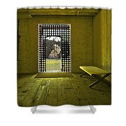 Whiskeytown Jail Shower Curtain