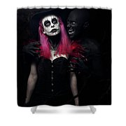Whisper Of Madness Shower Curtain