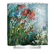 Whispering Charms Shower Curtain