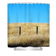 Whispering Earth Shower Curtain