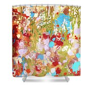 Whispering In The Woods Shower Curtain