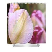 Whispering Tulips Shower Curtain