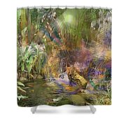Whispering Waters Shower Curtain