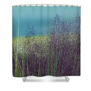 Whispy Field Shower Curtain