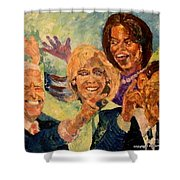 Whistle Stop Tour Usa 2008 Shower Curtain