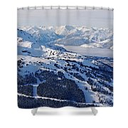 Whistler In Winter Shower Curtain