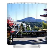 Whistler Mountain Shower Curtain