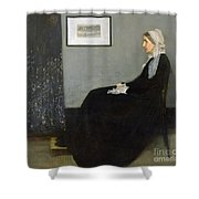 Whistlers Mother Shower Curtain