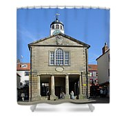 Whitby Old Town Hall Shower Curtain