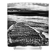 Whitby Sea And Sky  Shower Curtain