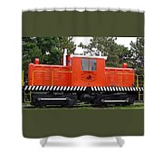 Whitcomb Side Rod Switcher Shower Curtain