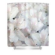 White Azaleas 1 Shower Curtain